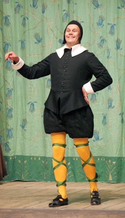 Mats Jäderlund som Malvolio