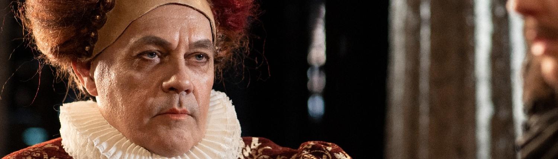 Mats Jäderlund som Elisabeth I